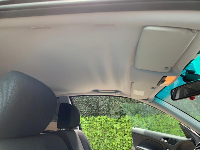 BMW 3シリーズ E46 天井の剥がれ・垂れ