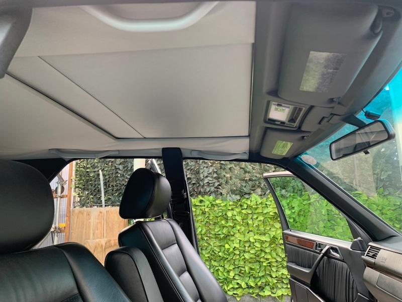 メルセデスベンツ E280 W124 天井の垂れ・剥がれ