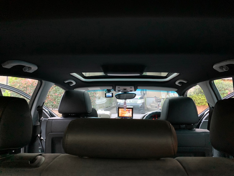 BMW 1シリーズ 天井張り替え後